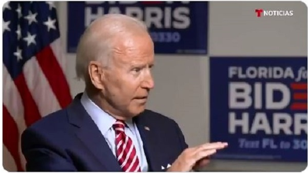 Fact check: Is Biden Answering Questions from a Teleprompter?