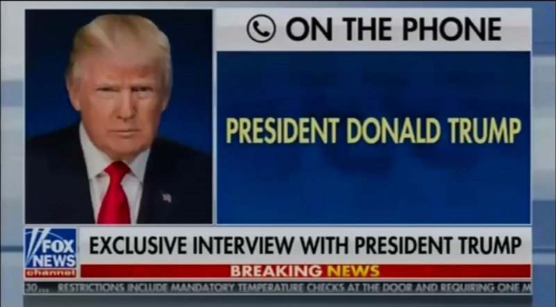 Trump - Hannity Phone Interview