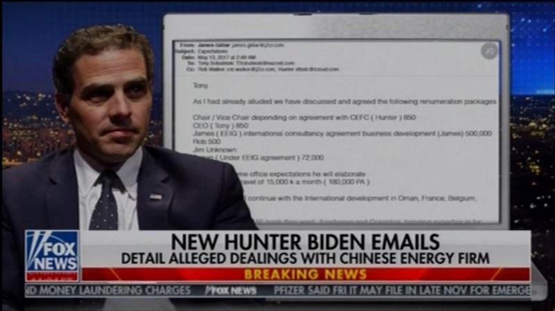 Hunter Biden Emails on Laptop