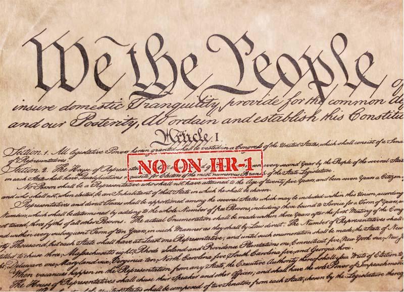 Constitution - No On HR1