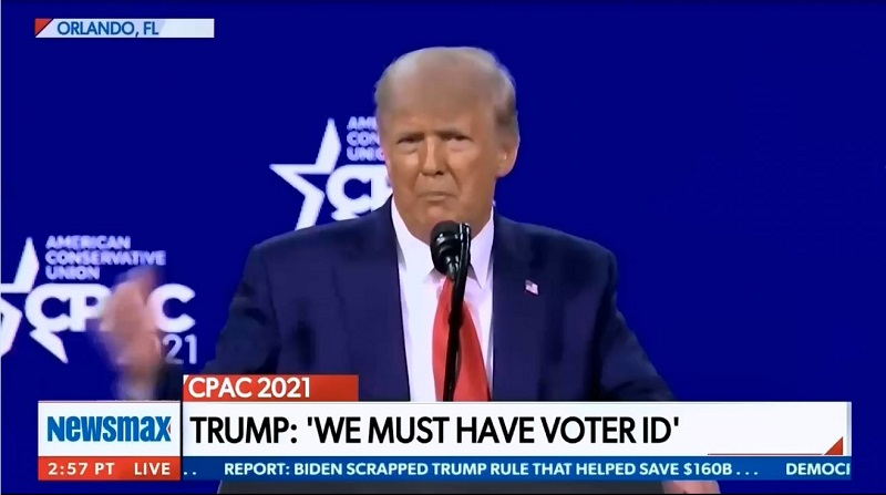 President Trump at CPAC 2021 on Election Integrity