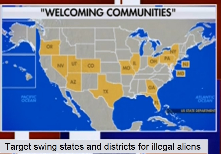 Target States for Illegal Aliens